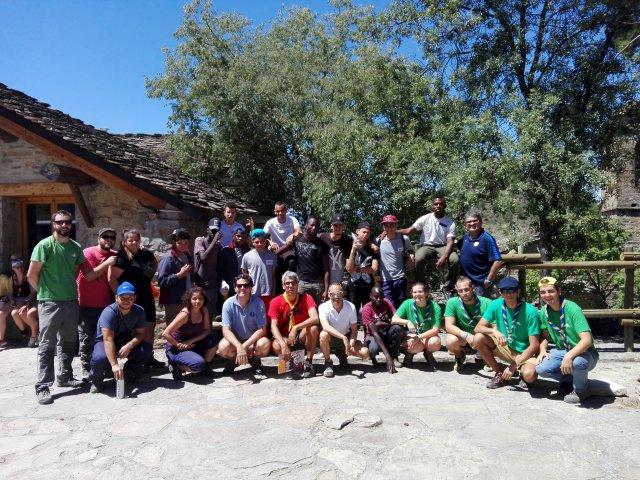 18 jóvenes en riesgo de exclusión participan en un campo de trabajo de Fundación Sesé y Fundación Griébal en colaboración con Fundación Federico Ozanam