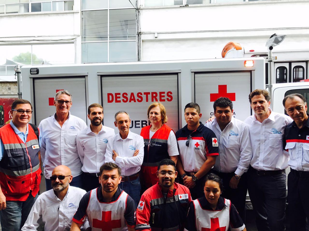 Fundación Sesé colabora en la respuesta al terremoto de México