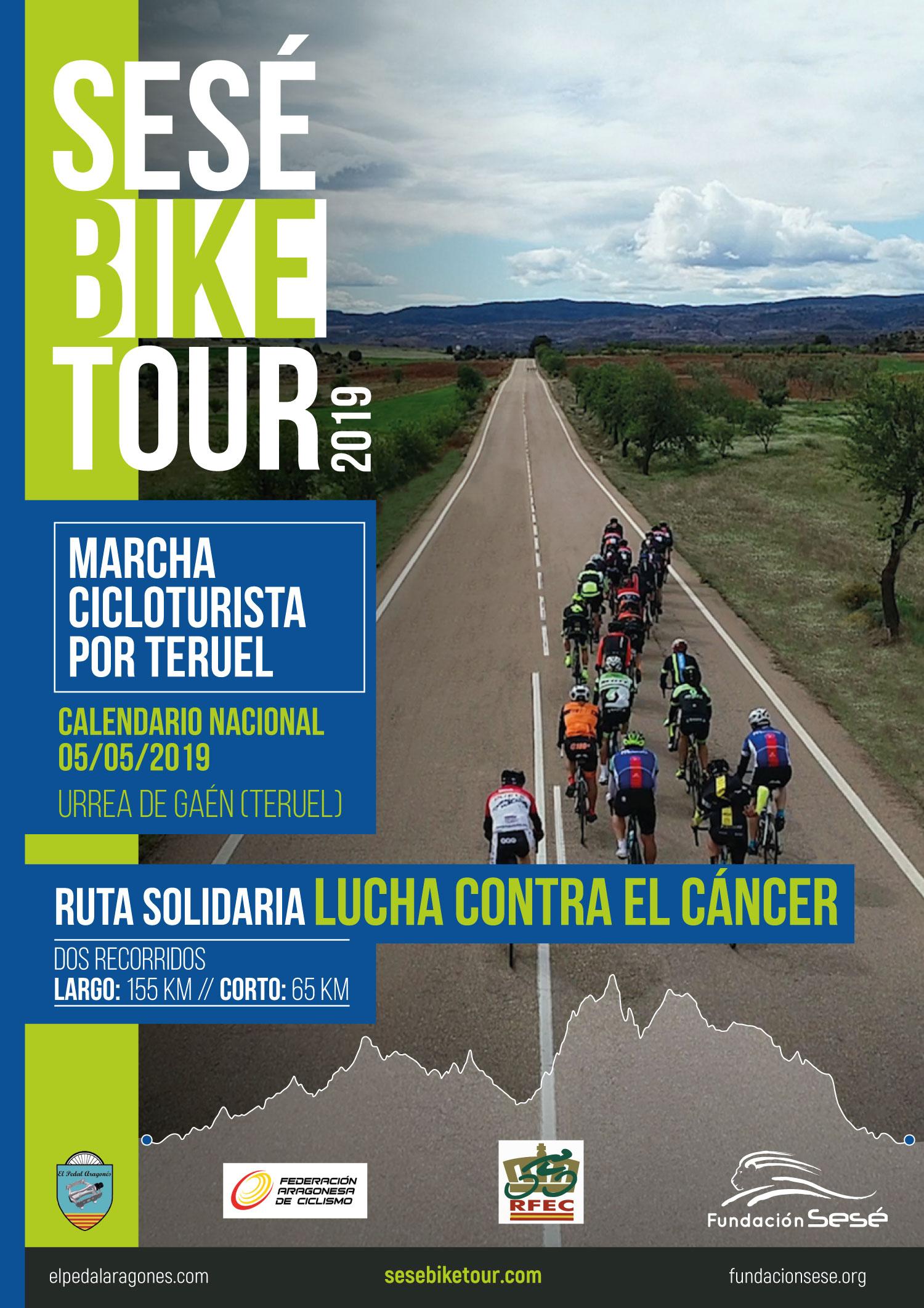 Cartel de la Sesé Bike Tour 2019