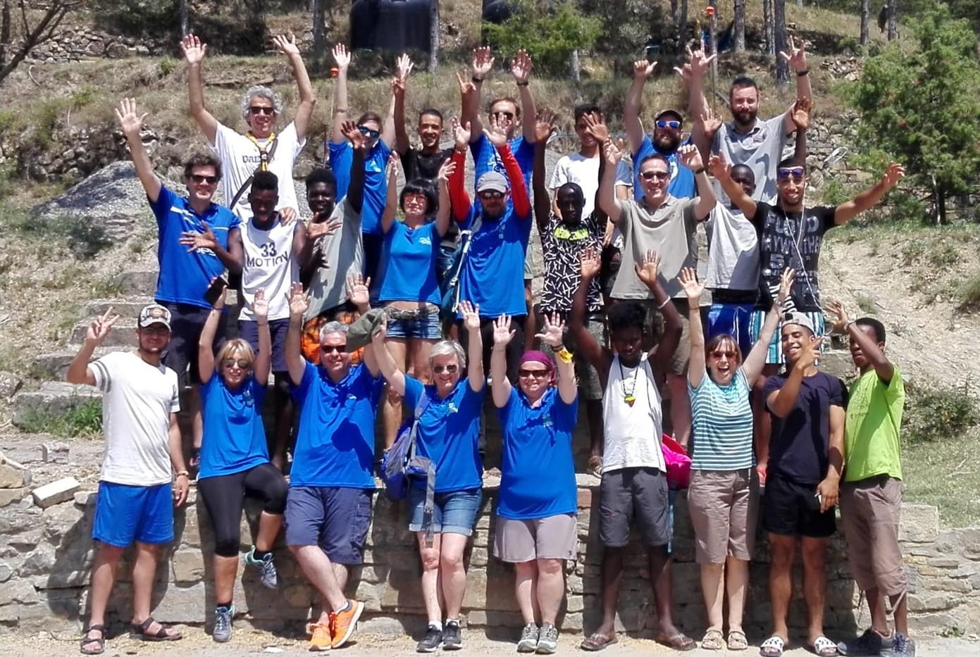 Fundación Sesé, Fundación Scout Griébal y Fundación Federico Ozanam colaboran para llevar a cabo la tercera edición del campo de trabajo en el Centro Scout Griébal